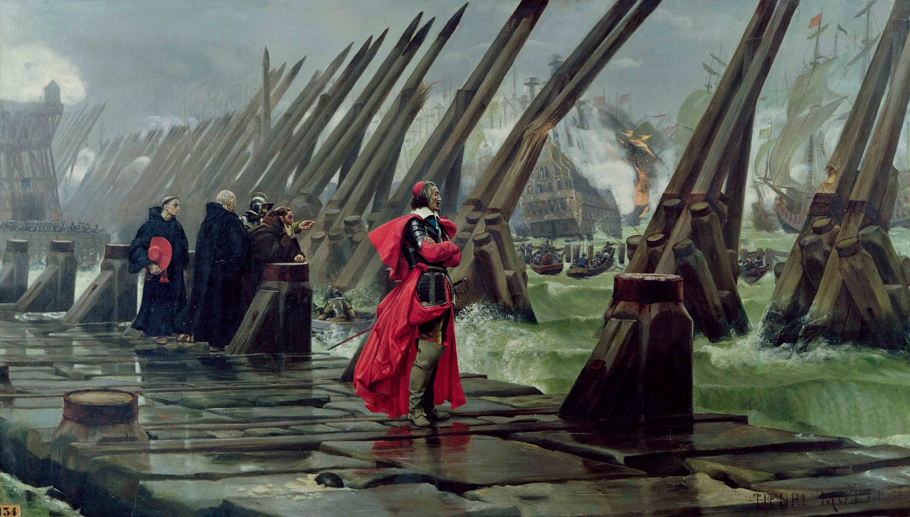 Le guerre civili in Francia Richelieu