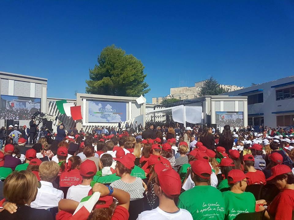 #TuttiaScuola, Mattarella e Fedeli inaugurano anno scolastico a Taranto