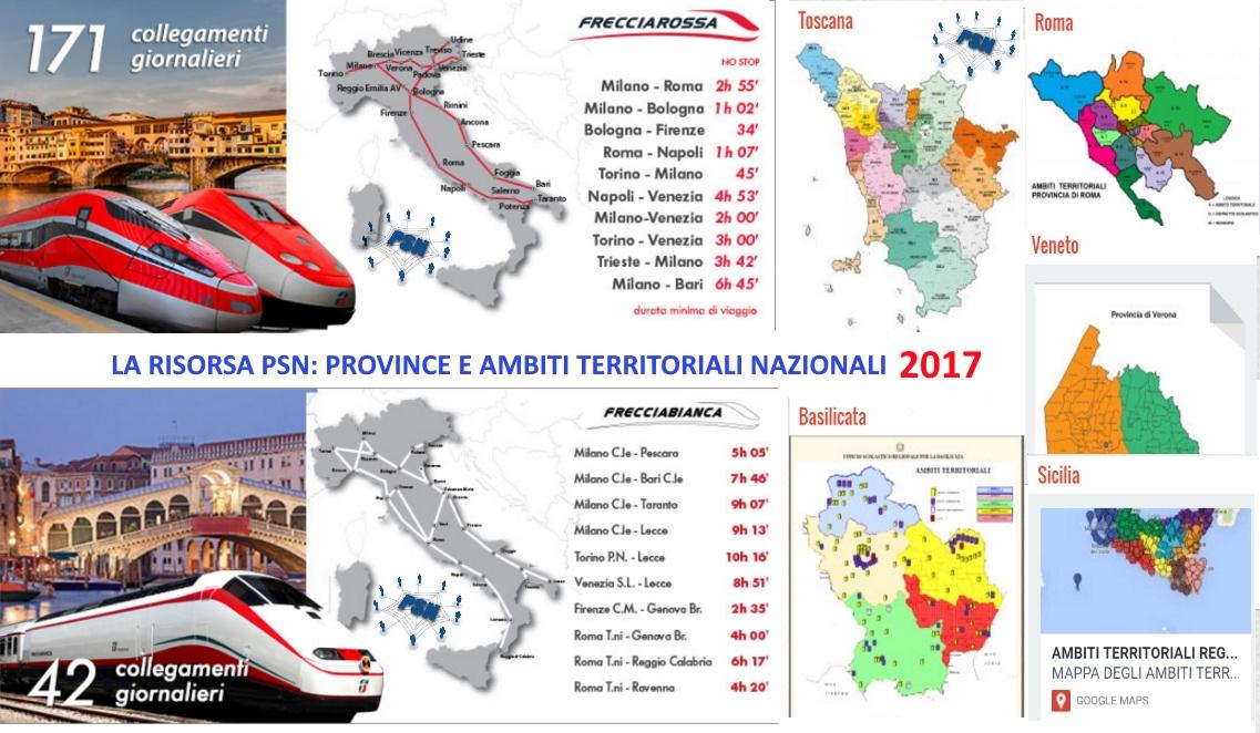 PSN Ambiti e province 2017